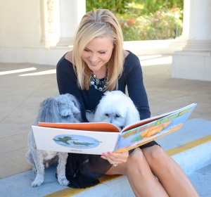 Dr. Lori Friesen with Reading Dogs 2